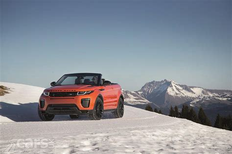 convertible land rover cost 2016 range rover evoque convertible arrives costs from 163