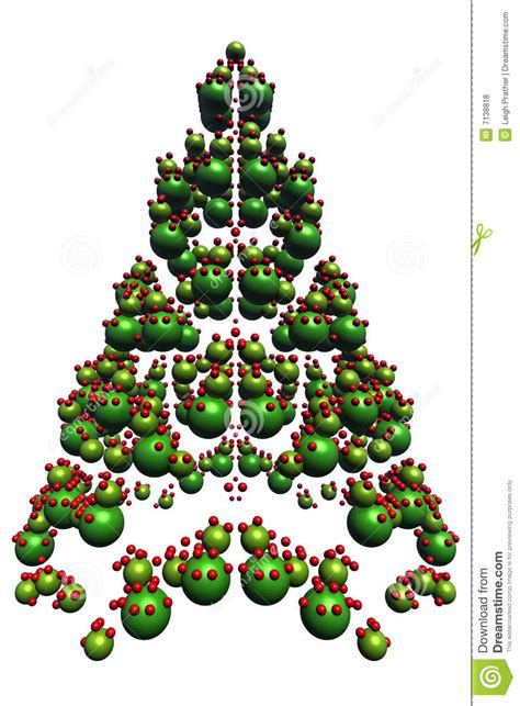 abstract christmas tree royalty free stock photos image