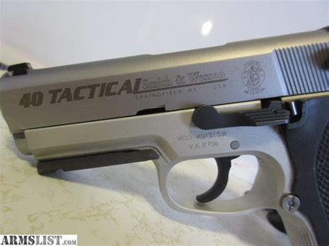 smith wesson 40 tactical armslist for sale smith and wesson tactical 40