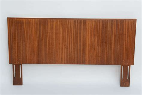teak headboards 1960s danish figured teak molded edge headboard at 1stdibs