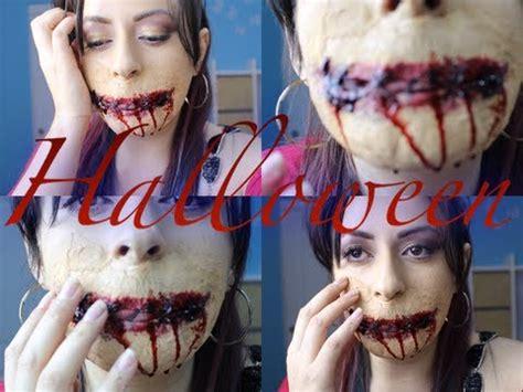 imagenes boca y nada mas boca cosida halloween youtube
