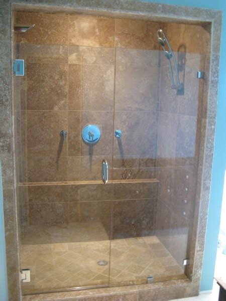 Seamless Shower Doors by Seamless Inline Enclosures