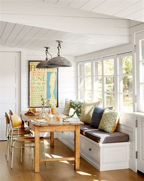 how to make a breakfast nook styling work california farmhouse