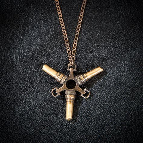 the bethesda store tri trait bone charm pendant necklace