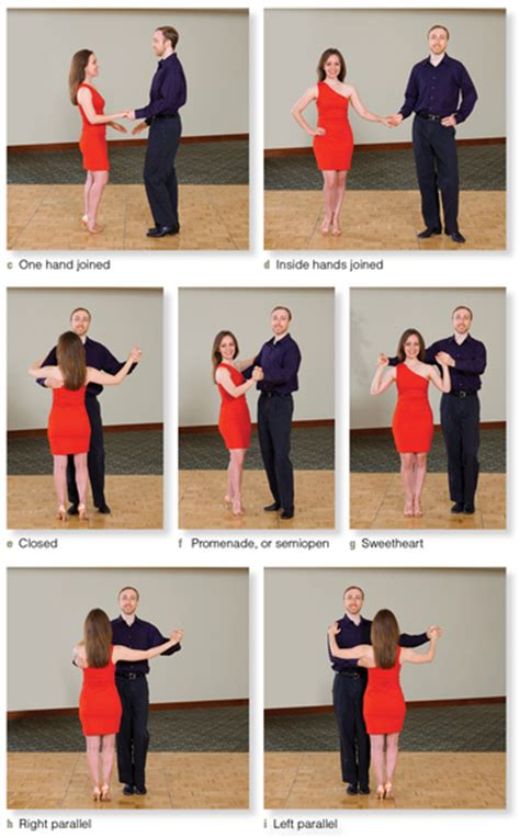 the swing position social dance 3e connecting with a partner