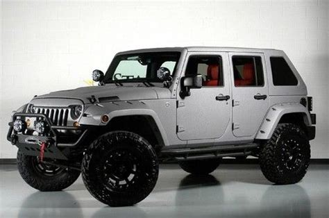 Jeep Wrangler Unlimited Fastback Hardtop Purchase New Starwood Custom Lifted Fastback Top