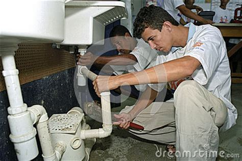 Plumbing Trade by Learn Profession Plumbing Trade School Editorial Photo Image 73022766