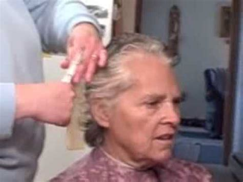 how cuts for grandmas grandma gets a haircut youtube