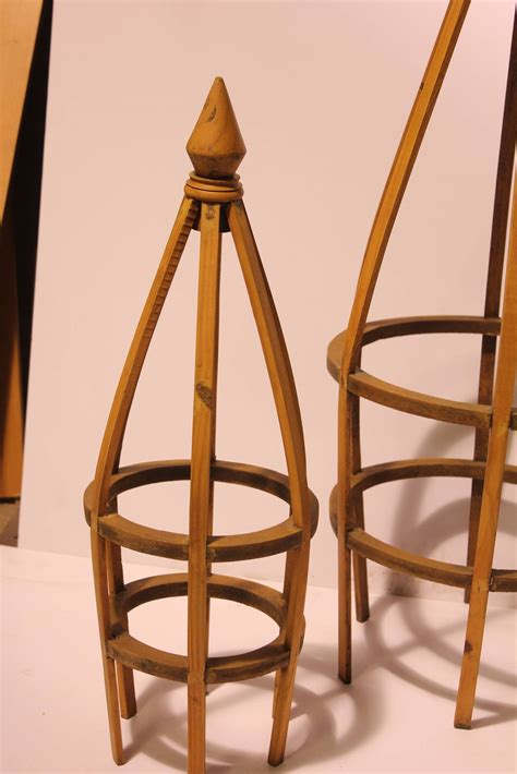 Handmade Wooden Stand - antique handmade wood topiary stands for sale at 1stdibs