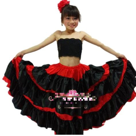 Robe Espagnole Flamenco Fille - petit nouveau de flamenco de danse robe fille robes de