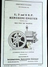 Ihc Mccormick Deering 1 1 2 Hp Engine Wico Ek Magneto