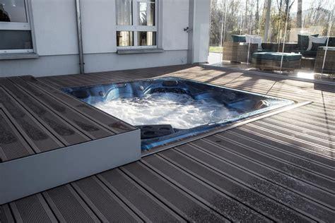 terrassen whirlpool whirlpool in terrassendeck integriert fs montagen