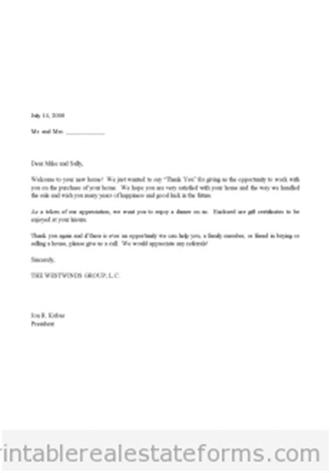 Thank You Letter To Landlord Sle Letter Of Appreciation Gift Certificate Letter Pdf