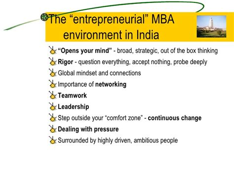 Mba In Strategic Management In India by Management Education In India And Entrepreneurship Development