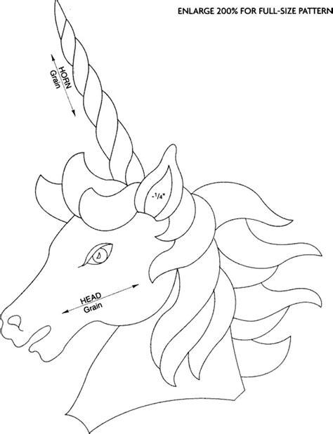 unicorn wood pattern unicorn scroll saw woodworking archive
