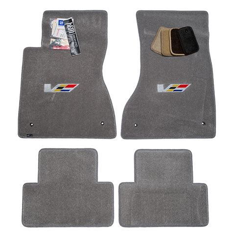 2007 Cadillac Cts Floor Mats by Cadillac Cts V Sedan Light Titanium Floor Mats 2003 2007