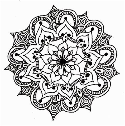 flower design m sunday funday mandala coloring construction bethkaya