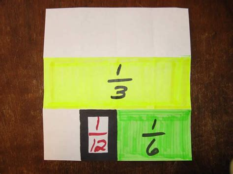 Paper Folding Fractions - 17 best images about fractions on anchor
