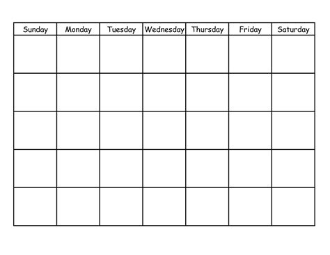Monthly Homework Calendar Template 10 best images of blank weekly homework calendar free