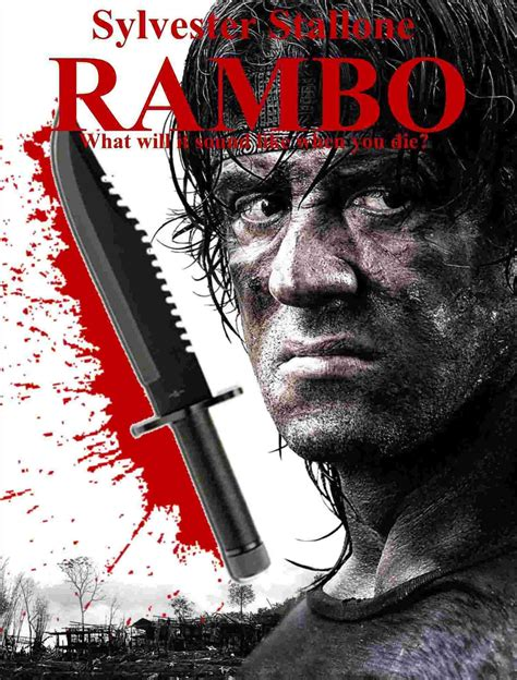 rambo film poster rambo 2008 movie