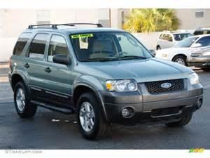 2006 titanium green metallic ford escape xlt v6 34994767