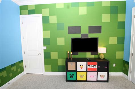 kids minecraft bedroom minecraft bedroom