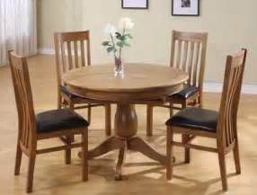 Solid Oak Extending Dining Table And 4 Chairs Chateau Oak To Oval Extending Dining Table 4 Or 6