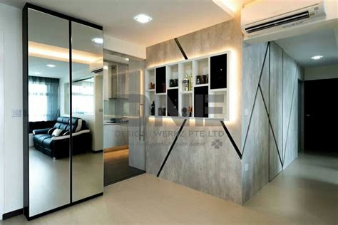 Kitchen Cabinet Interior Design Hdb Living Dining