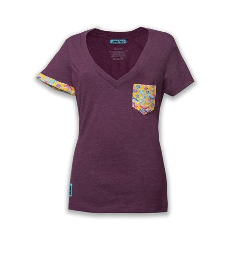 womens plum v shirt jootoo clothing company