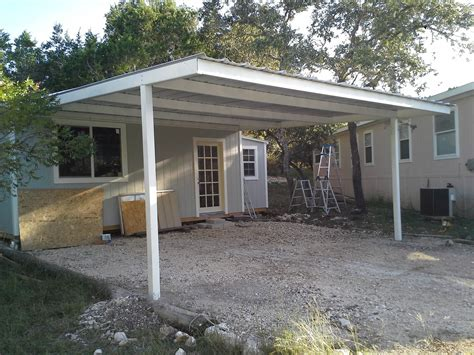 attached carport cotulla attached custom all steel carport carport patio covers awnings san antonio