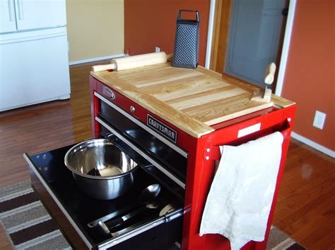 box kitchen cabinets tool box repurposed for kitchen center island wooden