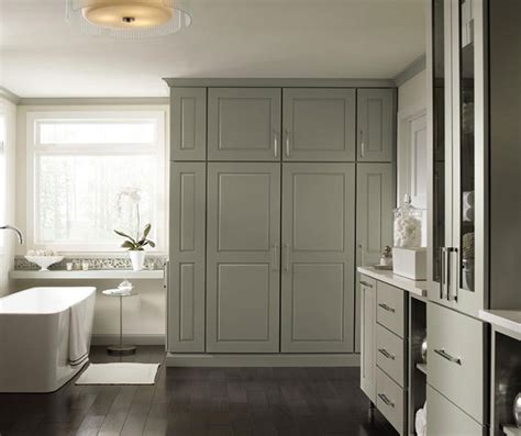 mindful gray bathroom toulan cabinet door style decora cabinetry
