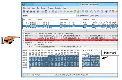 wireshark tutorial sniffing passwords project 3 stealing passwords with a packet sniffer 15