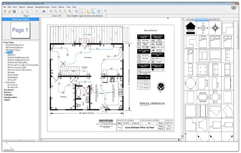 residential floor plan residential wire pro software draw detailed electrical