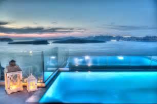 Greece Infinity Pool Astarte Suites Hotel Santorini Greece