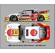 Mercury XR4Ti  IMSA 1988 Car Pinterest Cars