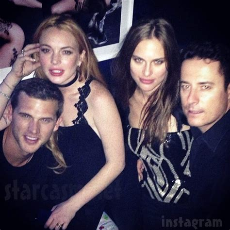 Style Exclusive Lindsays New Boyfriend by Photos Is Lindsay Lohan Dating Matt Nordgren From Most