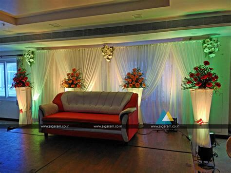 Wedding Reception Decoration at Hotel Ungal Vasanta Bhavan