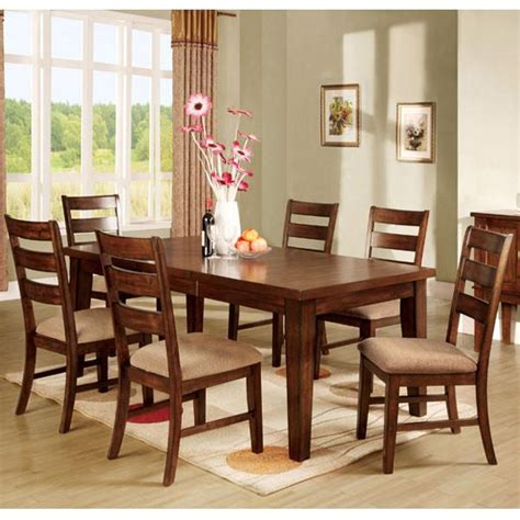 mission dining table set priscilla mission style antique oak finish dining table
