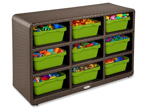 outdoor  cubby storage unit  lakeshore learning