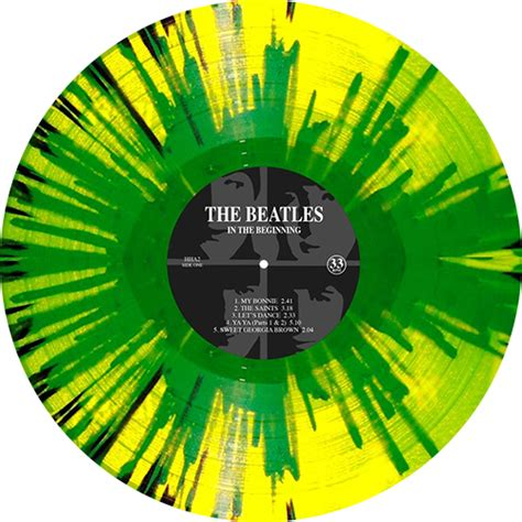 colored vinyl the beatles in the beginning colored vinyl