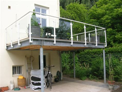 terrasse stahl terrassen stahlkonstruktion greyinkstudios