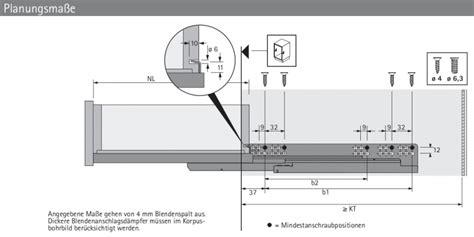 Laufschiene Schublade by Quadro V6 Push To Open Vollauszug 320mm