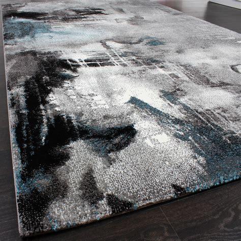 teppich 40x60 designer rug contemporary textured canvas mottled grey