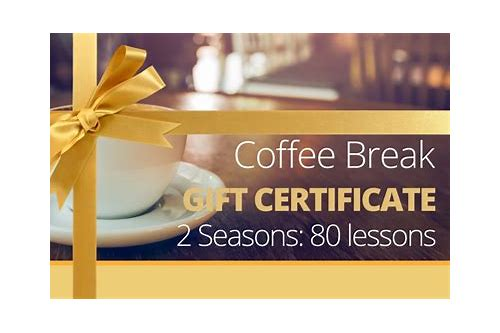 coffee break french coupon