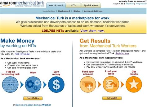 amazon turk how to use amazon mechanical turk to make extra money