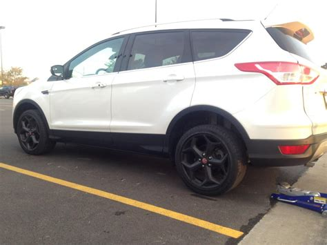 2014 ford escape tire size ford escape custom wheels oem ford focus st 18x8 0 et 55