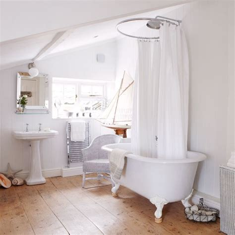roll top bath with shower peep inside a norfolk farmhouse roll top bath showers
