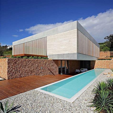 Modern Earthy Home Design by Croatia S Earthy Modern Olive House Freshome