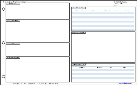 project a3 template a3 template tips workplace template and pdf